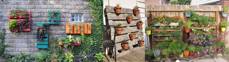 Upcycled Wood Pallet Gardens Your Imagination is Your